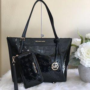 New Michael Kors large Ciara tote & wallet bundle